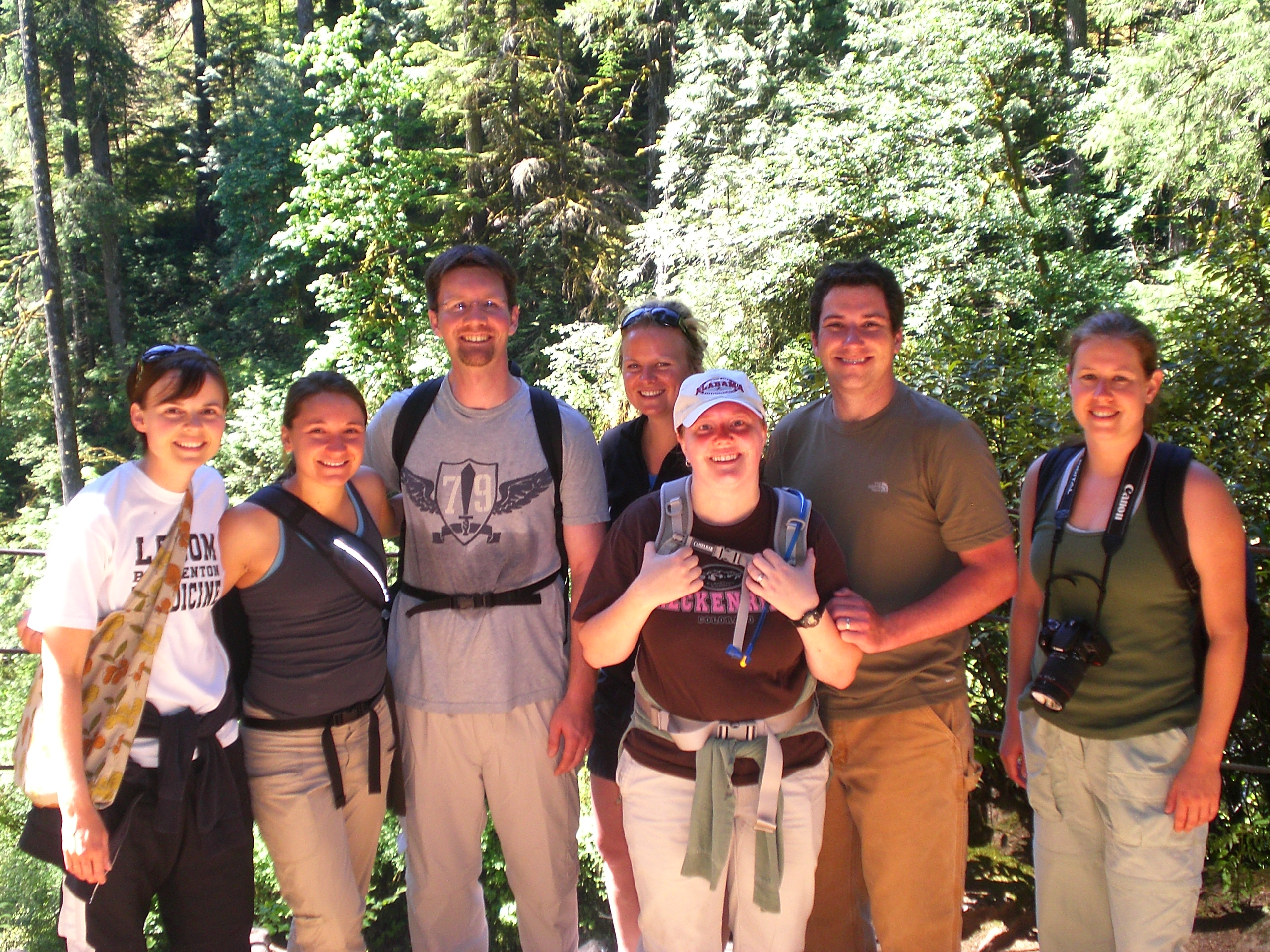 Intern Class Hike with Dr. Swenson
